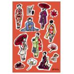 京都中央郵便局 オリジナルポストカード(秋限定絵柄 )発売のお知らせ