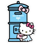 人気のサンリオキャラクターの「ポスト型はがき」、 「切手とおそろいのハローキティグッズ」発売のお知らせ