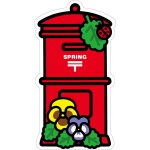 郵便局の一筆箋(春)、郵便局のオリジナルシール(春)、 春のポスト型はがき(パンジー) 発売のお知らせ