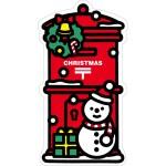 郵便局の一筆箋(冬)、郵便局のオリジナルシール(冬)、クリスマスのポスト型はがき 発売のお知らせ