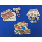~「ステッカー、マスキングテープ、マグネット」の3アイテム~ 全国都道府県・ご当地フォルムカードのイラストを使った文具シリーズを発売